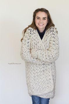 a95a89f0863c97 Coastal Fog Chunky Cardigan - Giveaway + Crochet Pattern