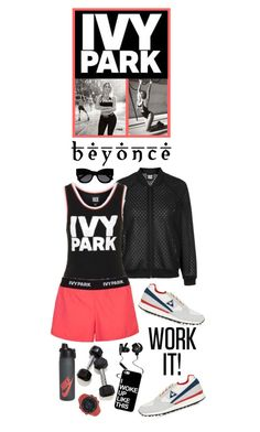 """Slay All Day: Style Beyonce's Ivy Park!"" by shortyluv718 ❤ liked on Polyvore featuring Topshop, Ivy Park, Monster, NIKE, Suunto, Karen Walker, Beyonce, contestentry and IvyPark"