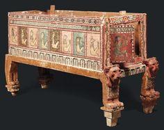 Sarcophagus of a child : Ptolemaic Period - Roman Period, third century BC. BC - I century AD.