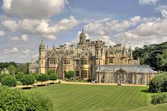 Harlaxton Manor HDR