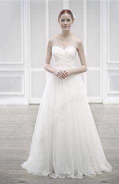 Frühling Brautkleider Stil