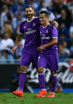 Karim Benzema & Lucas Vazquez (Espanyol - Real Madrid 0-2)