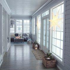 Villa Walo - Kannustalo Porch, Entryway, Villa, House Design, Patio, Windows, Country, Architecture, Interior