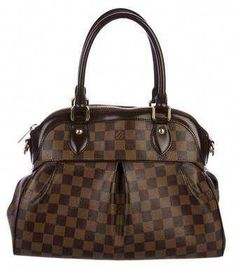 d6ca62fa503 Louis Vuitton Damier Ebene Trevi PM  Louisvuittonhandbags