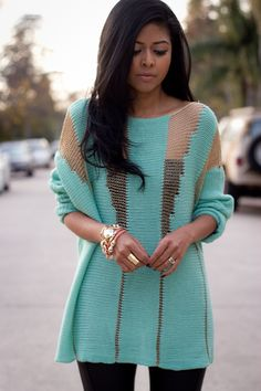 Вставки? / Свитер / Модный сайт о стильной переделке одежды и интерьера