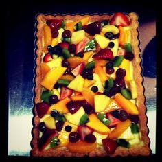 Monica's fruit tart