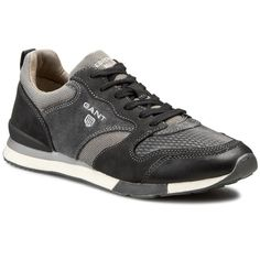 Sneakersy GANT - Russell 11631905 Asphalt Grey/Black G09
