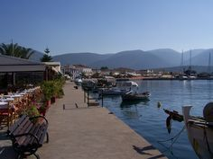 Sami Harbourside, Kefalonia, Greece