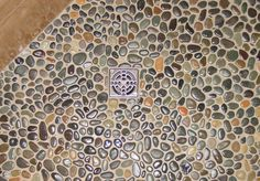 Pebble Shower Floors for Tiled Showers - How-to Install Small Rocks | Tile Your World