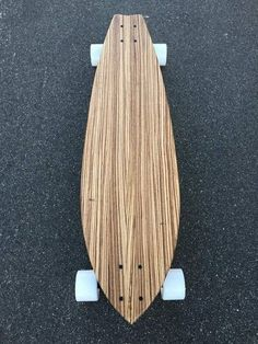 Zebrawood Longboard