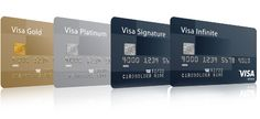 Visa Infinite, Visa Signature, Visa Platinum and Visa Gold privileges