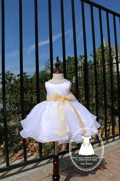 Sparking Neckline dress Baby TuTu Dress Toddlers Flower by PLdress
