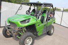 Used 2014 Kawasaki Teryx LE ATVs For Sale in Missouri. 2014 Kawasaki Teryx LE, The new more powerful Kawasaki Teryx4 LE is the pinnacle of Side x Side performance and styling. Packing all of the latest Teryx4 upgrades like a larger and significantly more powerful 800 class V-twin, and all-new Fox Podium shocks that help it set new standards in performance, reliability and durability, the LE model adds extra style and comfort with custom touches that give this tough Side x Side a trail…