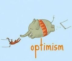 durch und durch Optimist