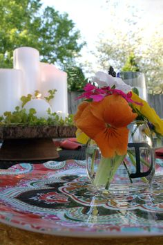 Tips for setting the perfect outdoor table
