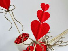 Valentines Day Decorations Party Decor Cake by LeMaisonBelle, $20.00