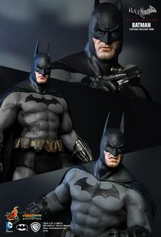 Hot Toys - VGM18 - Batman Arkham City - Batman & Incredible Real-World Replica Of Batmanu0027s Arkham City Costume ...
