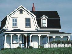 24 Popular Architectural Home Styles : Home Improvement : DIY Network Dream Home Design, My Dream Home, House Design, Dream Homes, Farmhouse Architecture, Residential Architecture, Style At Home, Farmhouse Style, Farmhouse Decor