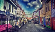 """""""Drømmengaten-Fargegaten"""" #Stavanger#Rogaland#Norway#Scandinavia#Europe#World#Culture#Coffee#Snacks#Food#Beer#Coctails#Clothes#Shopping#Hairdresser#Dream#Believe#Visit#Hotels#Igers#Spring#Sun#Relax#Travel#Explore#FlySas#Colours by padila176"""