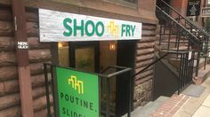 Shoo Fry, featuring poutines, milkshakes, and sliders