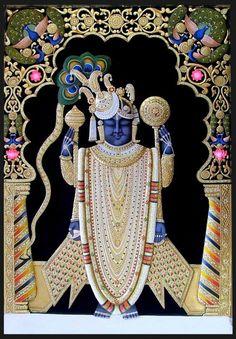25 Beautiful Tanjore Paintings - Traditional Indian Paintings Thanjavur Art