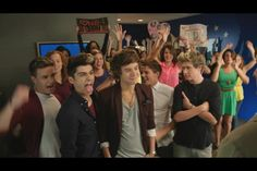 this picture. <3 everyones crazy and then Harry like these r my people and niall is like and I have to put up with this lol