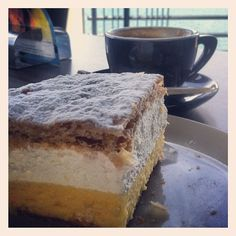 Cake from Bled. Slovenia