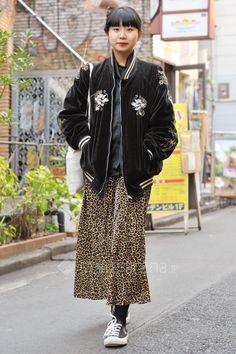 Karan   used faith PLAY COMME des GARÇONS UNIQLO GIVENCHY   2nd week Feb. 2016   Harajuku   TOKYO STREET STYLE   TOKYO STREET FASHION NEWS   style-arena.jp