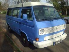 Volkswagen T3 Multivan m.Aufstd. 253 T92 Blau - 1