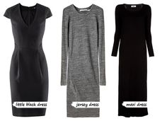 Basic wardrobe dresses. Neutral. Easy to dress up or down, plus they are comfortable and flattering.