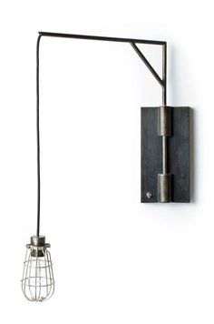 Swing-Arm wall sconce by Project Sunday