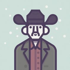Al Cody - Illustrations of Coen's Movies Characters