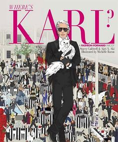 The 11 Fashion Coffee Table Books That Make the Best Gifts - Where's Karl? A Fashion-Forward Parody by Stacey Caldwell, Ajiri Aki, Michelle Baron  - from InStyle.com