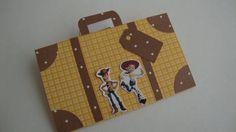 Convite personalizado em scrap tema Toy Story R$ 3,20