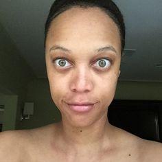 Tyra Banks valós arca nagyon ijesztő