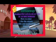 MASSIVE Giveaway Jailbroken PS3 1K Subscribers +  50$PSN COdes /Steam/Xb...