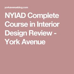 Beau NYIAD Complete Course In Interior Design Review | NYIAD | Pinterest |  Interiors