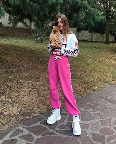 Clara Berry, Buffalo Boots, Animal Tumblr, Hoodies, Sweatshirts, Parachute Pants, Harem Pants, Berries, Instagram