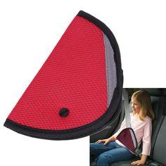 veicolo spalline per bambino Kids Car Seat Belt Covers Cintura di sicurezza Pillow blu