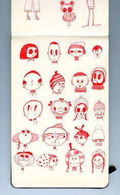 Doodelinos by Elsa Mora