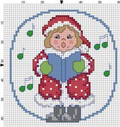Caroling Girl by Stitchluv on Etsy