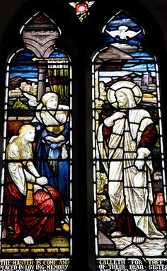 Adlestrop St Magdalene west window by Heaton, Butler and Baynes  -160