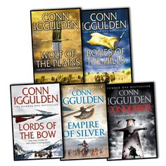 Conqueror series by Conn Iggulden (historical fiction)