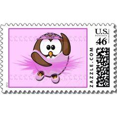 ballerina owl postage