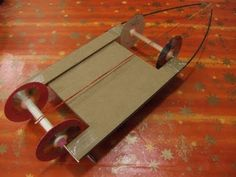 Let's make a Rubber Band Powered Car #4