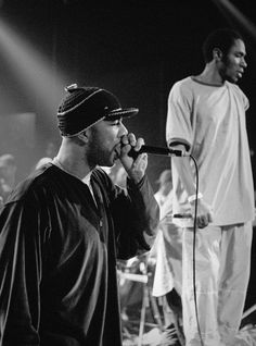 "rhyme-aesthetics: "" Common with Mos Def in 1999 """