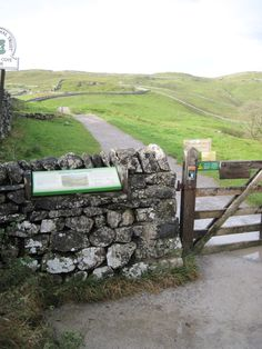Path to Malham Cove, Yorkshire Dales National Park