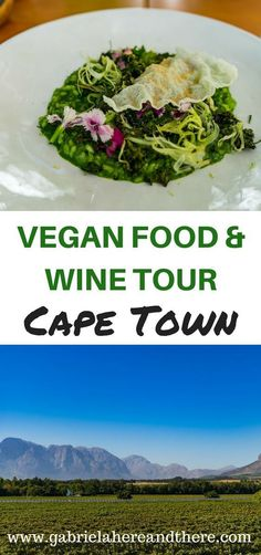 Vegan travel: Vegan Food & Wine Tour in Cape Town, South Africa. Veggie Recipes, Wine Recipes, Africa Destinations, Travel Destinations, Restaurant Guide, Vegan Restaurants, Africa Travel, International Recipes, Foodie Travel