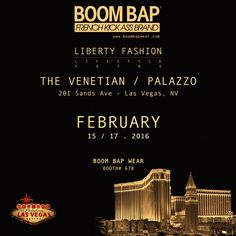 The Boom Bap Wear will show their new Fall Winter 2016-17 Collection to buyers and distributors at the Liberty Fashion & Lifestyle Fairs – From February 15 to 17. Boom Bap Wear welcomes you to discover the new collection at 201 Sands Ave Las Vegas, NV – Both # 678. Exhibition times: Every day: 9am – 6pm and last day: 9am – 4pm.
