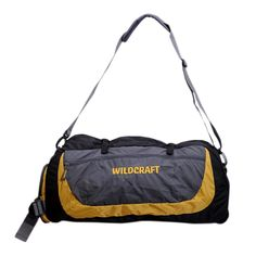 a018f9094b Wildcraft Rover Nylon 64 cms Yellow Softsided Travel Duffle Luggage Bag